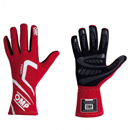 Guantes OMP FIRST-S 2018 FIA