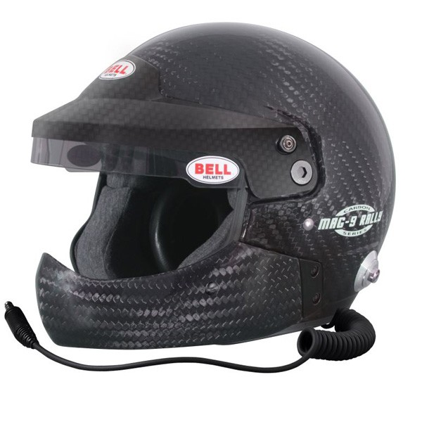 Casco Jet BELL MAG-9 CARBON RALLY HCB